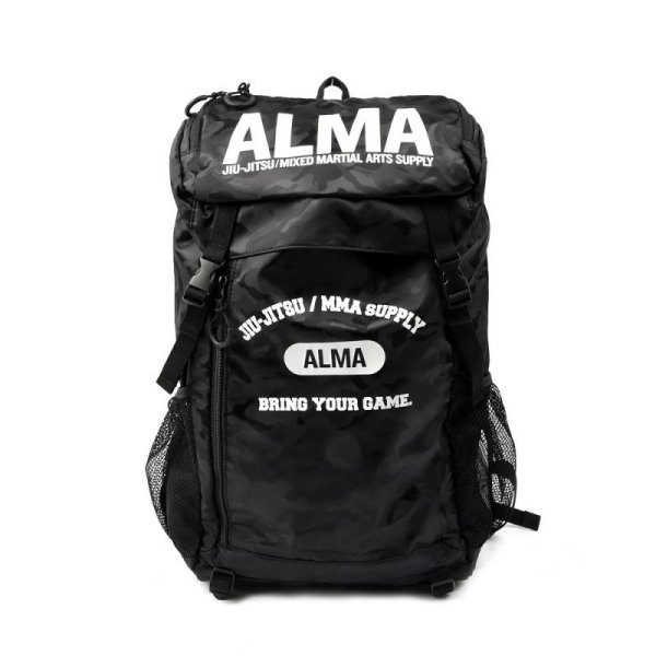 画像1: ALMA BACKPACK CAMOBLACK (1)