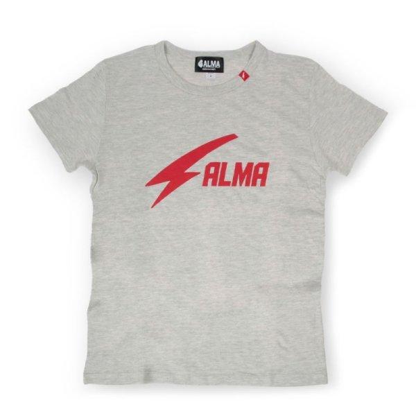 画像1: ALMA THUNDER LOGO Tシャツ (1)