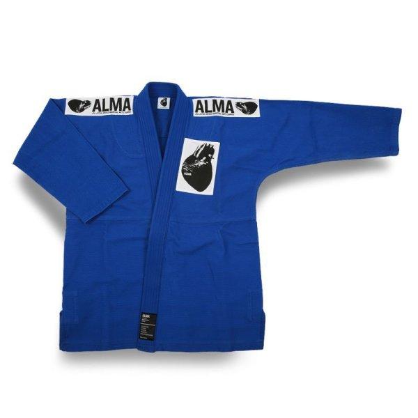 画像1: ALMA レギュラーキモノ  国産柔術衣 (1)